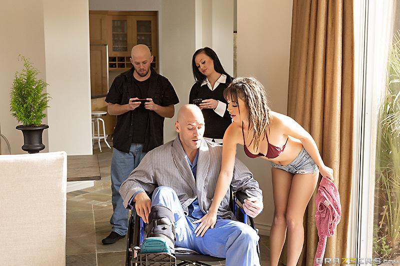 Cock Hungry Caregiver – Daisy Haze & Johnny Sins