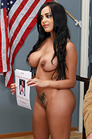 Kimberly Kendall in Vote For the School Slut President!
