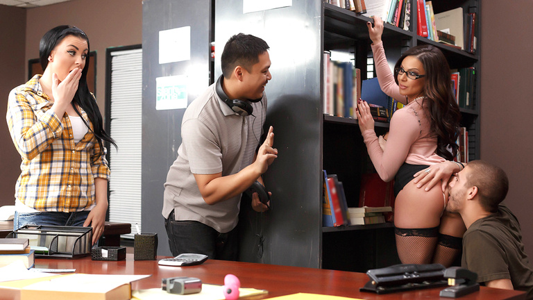 Kendra Lust Librarian Needs A Licking
