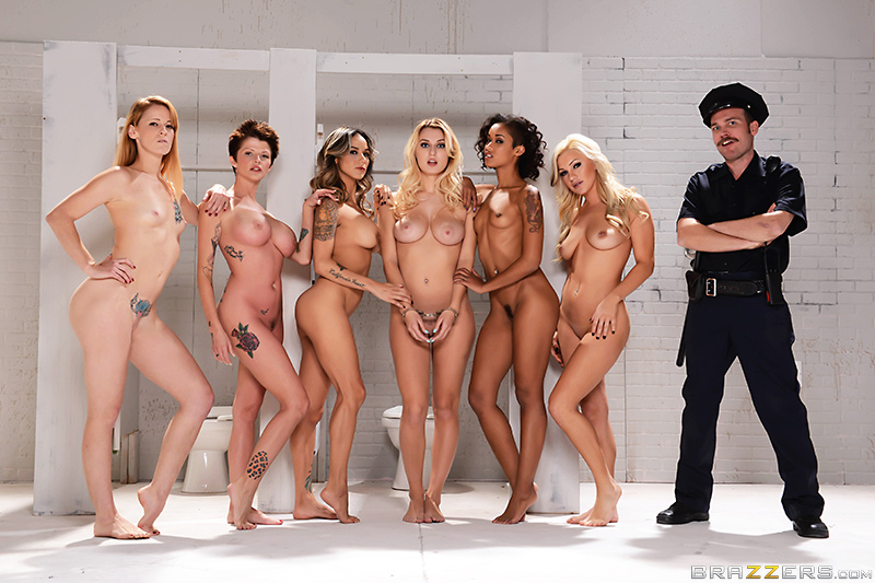 Orange Is The New Pussy - Nadia Styles, Natalia Starr & Skin Diamond
