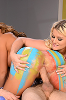 Julie Cash, Richelle Ryan, Danny D XXX clips