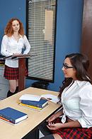 HD porn video Sybian Schoolgirl