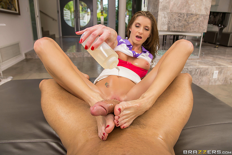 A Rubdown Dicking - Silvia Saige & Danny Mountain