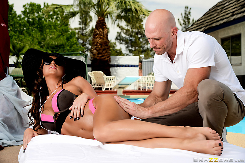 Poolside Perversion - Abigail Mac & Johnny Sins