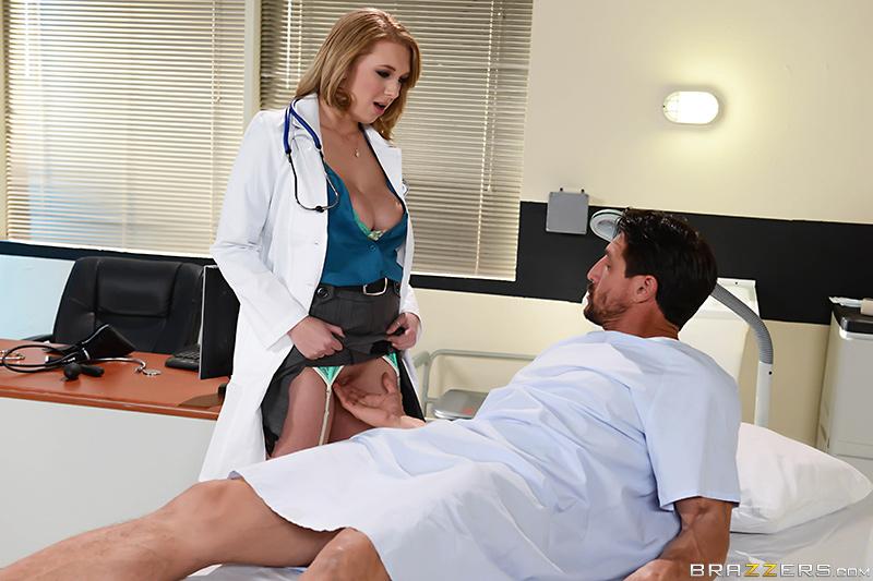Сисястая докторша хорошенько ублажила пациента / Brooke Wylde (How To Please A Sleaze) (2015) SiteRip