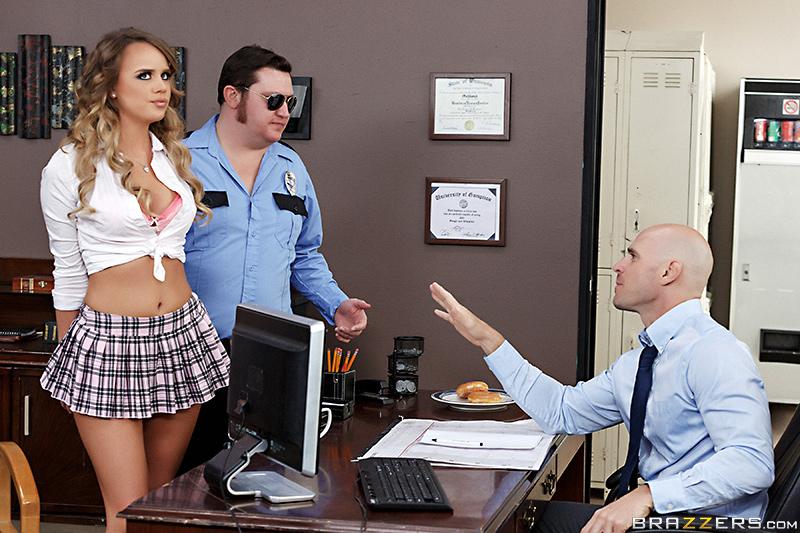 BTAS Big Tits At School – College and Cuffs – Alexis Adams & Johnny Sins