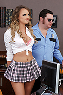 HD porn video College and Cuffs
