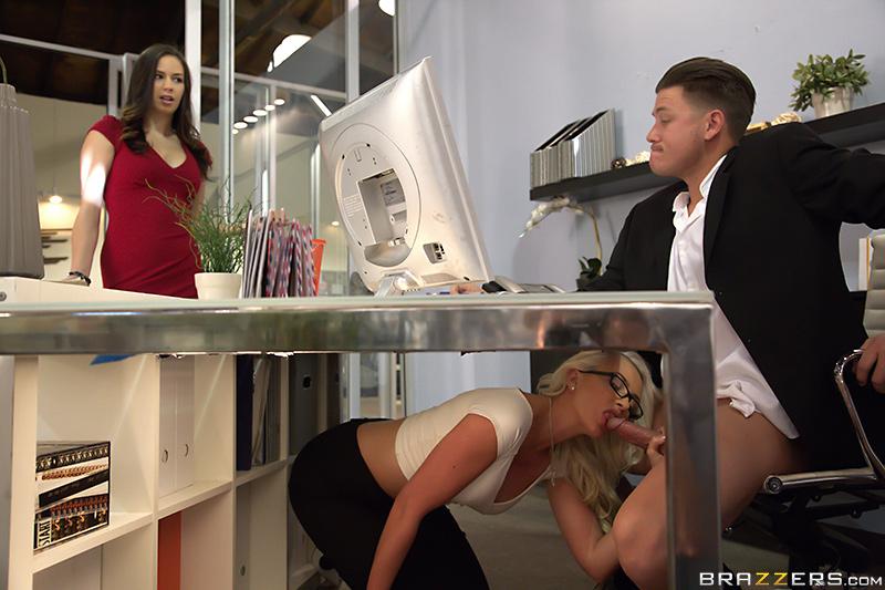 Big Tits At Work – Undersecretary – Gigi Allens & Bradley Remington