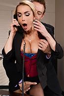 HD porn video Sharing The Secretary