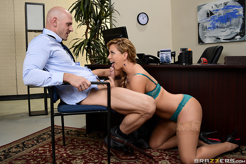 Getting Laid Off - Cherie Deville & Johnny Sins