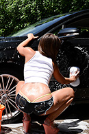HD porn video Crazy Ex Car Wash