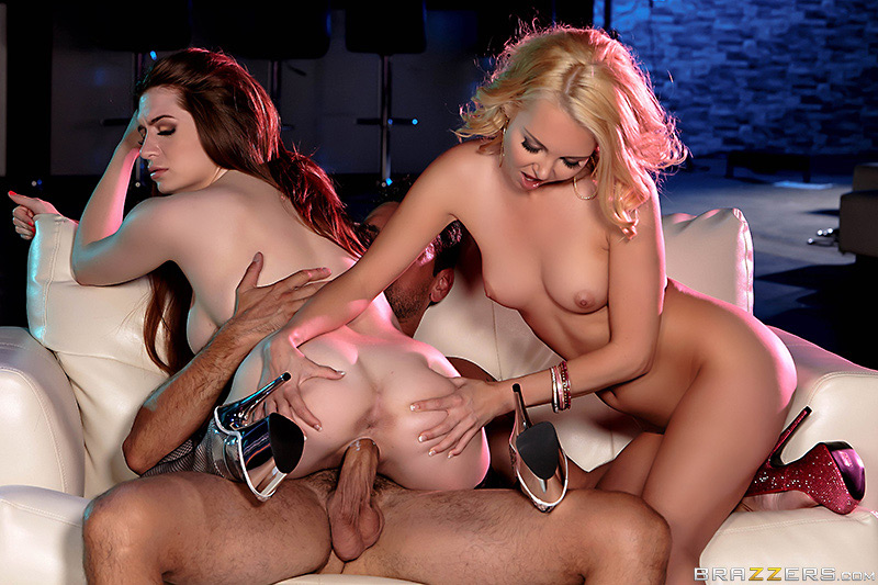 Brazzers Exxtra – Pole Skills and Holes Filled – Aaliyah Love, Veronica Vain & Ryan Driller