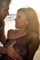 HD porn video Beach Babe's Boobs