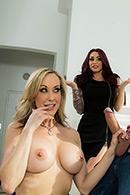 HD porn video Brandi Love's The Realtor