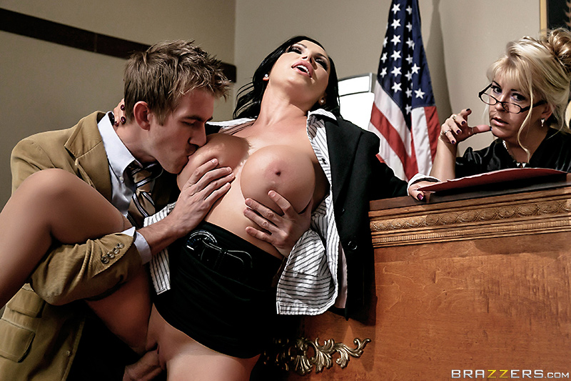 Brazzers - ZZ Courthouse: Part Two - Nikki Benz & Danny D - Big Tits At Work