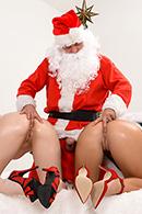 HD porn video Santa's Anal Elves