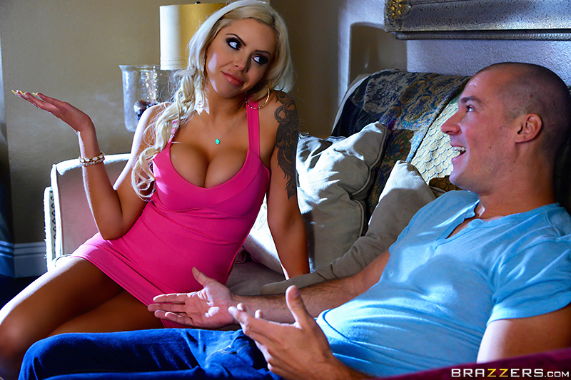Sitting on the Sitter's Dick