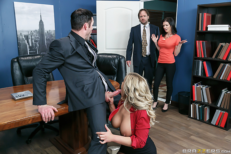 How To Fuck At The Office - Olivia Austin & Charles Dera