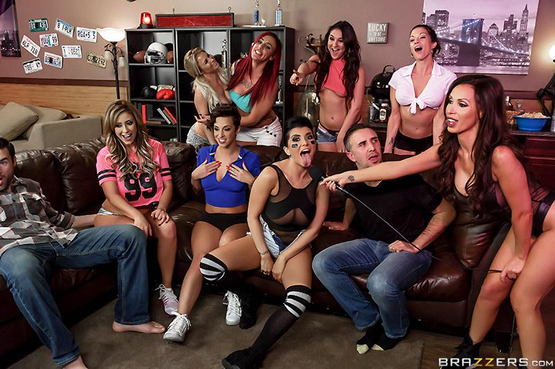 Pornstars Like It Big – Halftime Show – Eva Notty, Jada Stevens, Nikki Benz, Romi Rain, Charles Dera & Keiran Lee