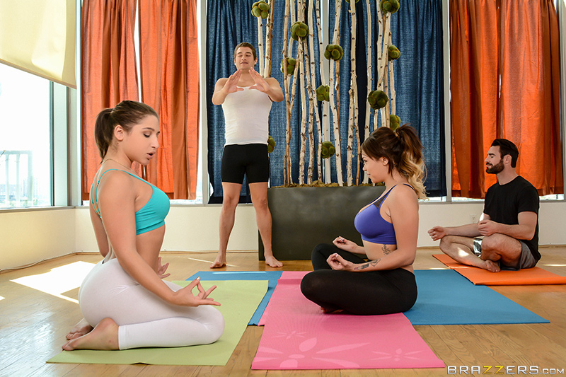 Abella Danger, Cassidy Banks - Brazzers - Yoga Freaks: Episode Four