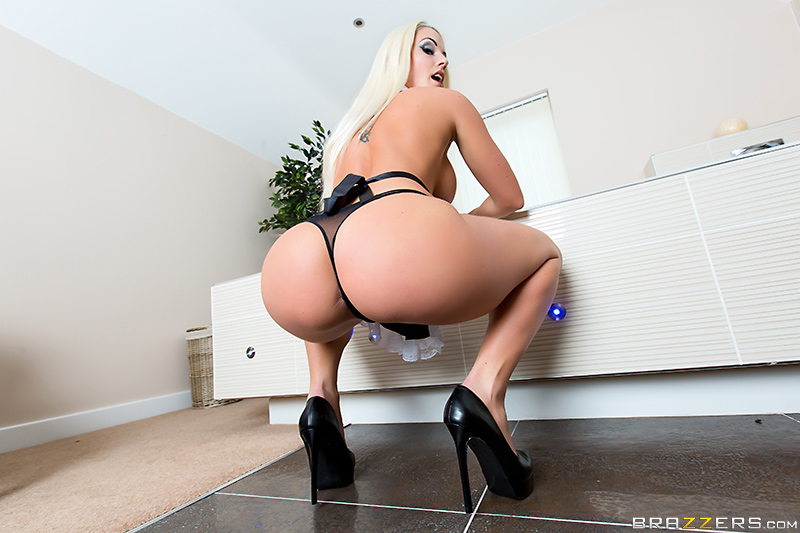 Blanche Bradburry - Brazzers - Big Wet Butts - Maid For Anal