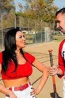 HD porn video Audrey Levanta al Bateador